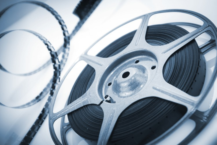 reel of 8mm motion picture film